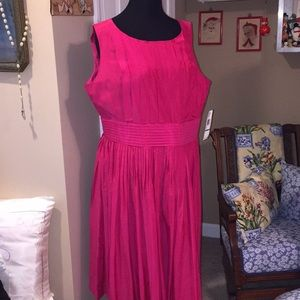 Anne Klein pink dress